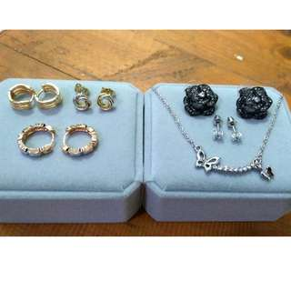 High Quality Plated Jewelry Set (Non-fading and Hypo-allergenic)