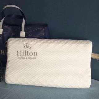 Hilton 枕頭 天然乳膠枕 頸椎枕 泰國乳膠枕