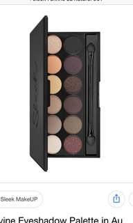 Sleek makeup I-divine mineral based eyeshadow palette