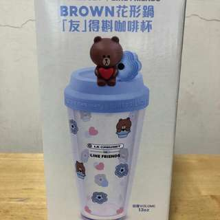 BROWN「友」得斟咖啡杯