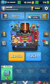 Lvl 12 Clash Royale Account