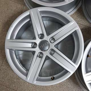 4x 16 Inch Audi Rims (5 spokes)