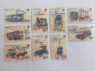 Singapore 1997 Transport lower value definitive mnh