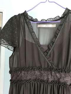 透視長身裙 Dress
