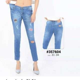 Clana jeans big size