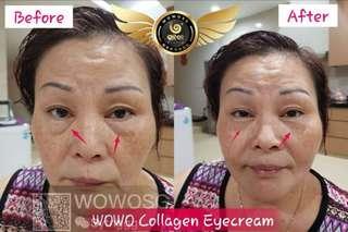 Vibration massager w/ collagen cream!