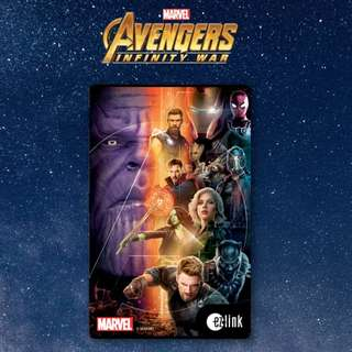 Brand New Marvel Avengers Infinity War Ezlink Card @ $7.00 ONLY.