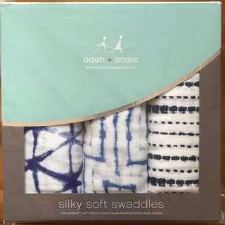 Aden + anais silky soft swaddles