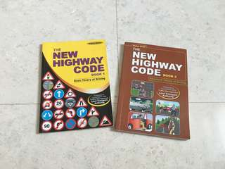 Driving Books for Basic Theory Test and Advanced Theory test