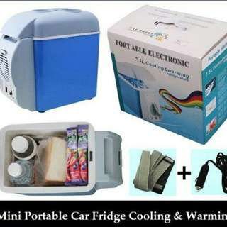PORTABLE MINI FRIDGE & WARMER
