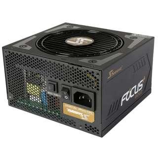 Seasonic FOCUS Plus Series SSR-550FX 550W 80+ Gold Intel ATX 12V Full Modular 120mm FDB Fan Compact 140 mm Size Power Supply