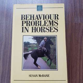 Behaviour Problems in Horses