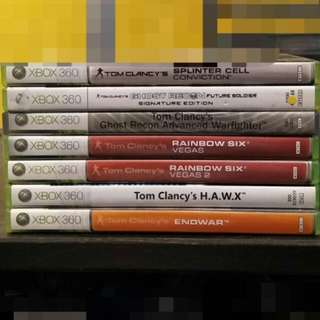Xbox 360 Tom Clancy's Collection