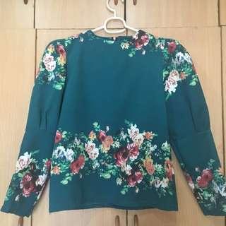 Floral Long Sleeve Top