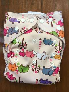 Alva Cloth Diapers with MF insert