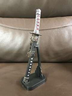 擺設物 武士刀形 開信刀