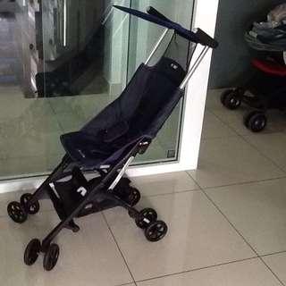 Non recline pockit stroller