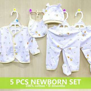 5 in 1 Newborn set