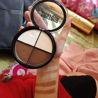 Contour and highligher palette