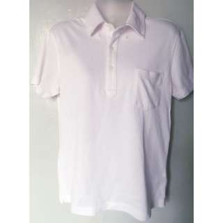 Uniqlo pinstripes polo shirt