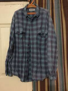 Levi's plaid polo