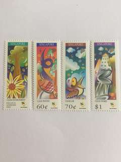 Singapore 1997 Protect our Environment mnh