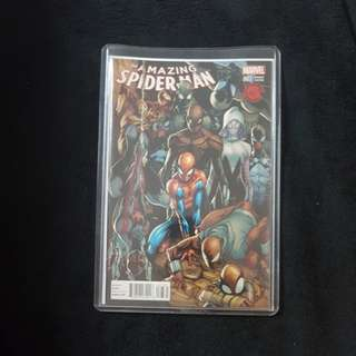 MARVEL THE AMAZING SPIDER MAN #7 EXCLUSIVE MEXICAN LA MOLE DECOMIXADO VARIANT