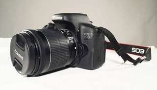 Kredit dp 10% Canon eos 750D kit 18-135mm tampa Cc
