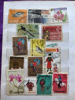 Antique Stamp Collection (2)