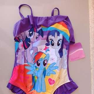 My Little Pony Size 2 Swim Suit Bathing Wear