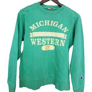 Crewneck Champion x Michigan