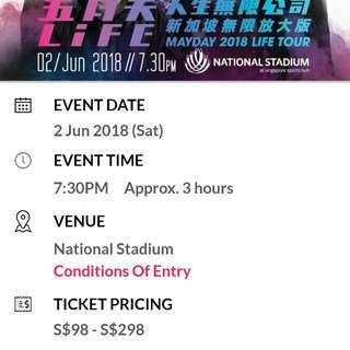 Mayday Concert 2018 @National Stadium