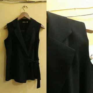 Korean vest hitam