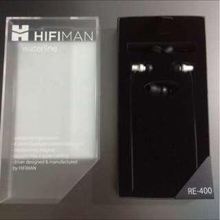 Hifiman Re400 Waterline IEM - Single Dynamic Driver Earphone