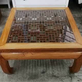 High Quality Antique Chinese Lattice Coffee Table