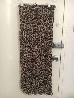 BNWT Tree of Life Leopard Maxi Skirt