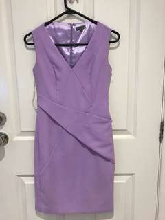 Sheike purple dress