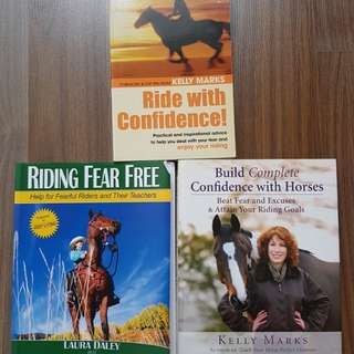 3 books on improving confidence for the nervous rider