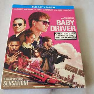 BABY DRIVER   BLU RAY / DIGITAL HD
