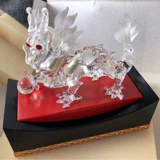 Swarovski Crystal Dragon 1997 施華洛世奇 水晶 龍
