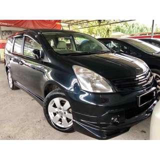 2011 Nissan Grand Livina 1.6 (A) ST-L PREMIUM SPEC