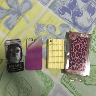Iphone 5 and Iphone 4 cases all from Japan (were never used)