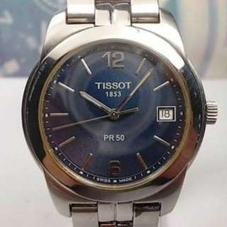Tissot PR50 Sapphire Crystal Authentic Classic Swiss Made