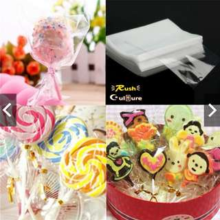[BRAND NEW] [High Quality] Candy Chocolate Clean Clear Cello Bags for Gifts Parties