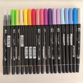 Tombow Brush Pens