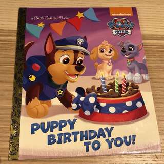 Paw patrol: puppy birthday to you!