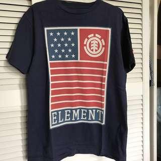 日本買-Element 深藍Tee