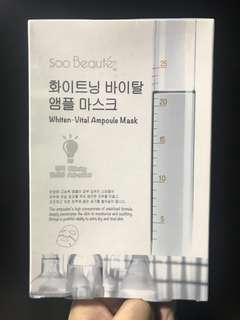 Whiten-Vital Ampoule Face Mask