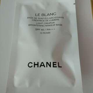 Chanel 淨白防曬妝前乳