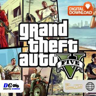 🆕 Grand Theft Auto V 5 (GTA 5) PC (Rockstar SocialClub) (Global)